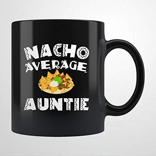 N-acho - Taza de cerámica para tía, regalo de Navidad, regalo de cumpleaños para hombres y mujeres