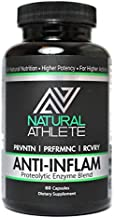 Anti-Inflammatory   Extra Strength Proteolytic Enzymes + Probiotics   Natural Systemic Inflammation Relief for Arthritis and Joint Pain   Heal and Soothe Achy Joints (60 Tablets)