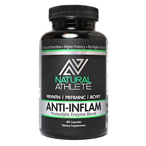 Anti-Inflammatory | Extra Strength Proteolytic Enzymes + Probiotics | Natural Systemic Inflammation Relief for Arthritis and Joint Pain | Heal and Soothe Achy Joints (60 Tablets)