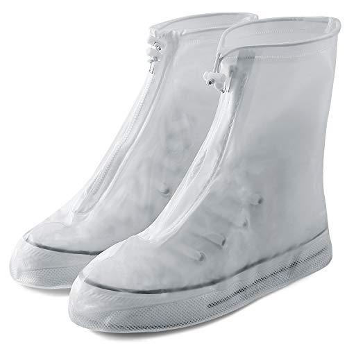 防水収納袋付きで、折りたたんでカバンの中に入れて携帯できるシューズカバー。防水性が高く、雨が降った時に靴を保護してくれるから、靴を濡らさずきれいな状態に保てます。
