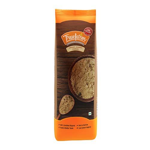 Truefarm Foods Organic Jaggery Powder, 500g