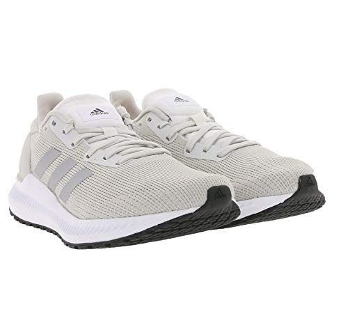 adidas Performance Solar Blaze - Zapatillas de running para mujer, Gris y negro., 7.5 UK - 41 1/3 EU - 9 US