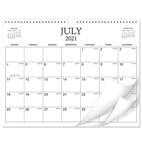 """2021-2022 Calendar - 18 Months Wall Calendar Planner from Jul 2021 - Dec 2022, 14.6""""× 11.4"""",..."""
