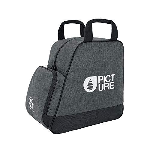 Picture Organic tas voor skischoenen, grijs/melange