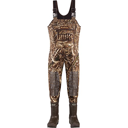 Lacrosse Waders Brush Tuff Extreme ATS Realtree Max-5 1600G (700055) | Waterproof | Insulated Modern Comfortable Hunting Combat Boot Best for Mud, Snow (Medium = 8)