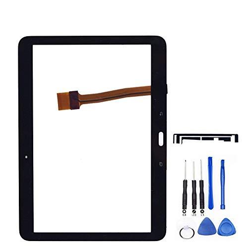 Kit de reemplazo de pantalla Aptos for la Samsung Galaxy Tab 10.1 4 2015 T533-T533 SM panel táctil de la pantalla táctil de cristal digitalizador paneles Tablet piezas de repuesto kit de reparación de