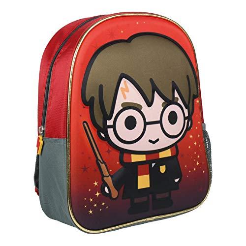 Mochila Infantil 3D Harry Potter