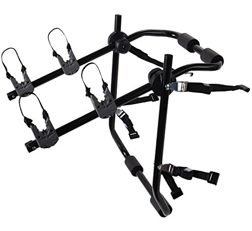 OxGord 2-Bike Rack Trunk Mount - Deluxe Bicycle Carrier for Most...
