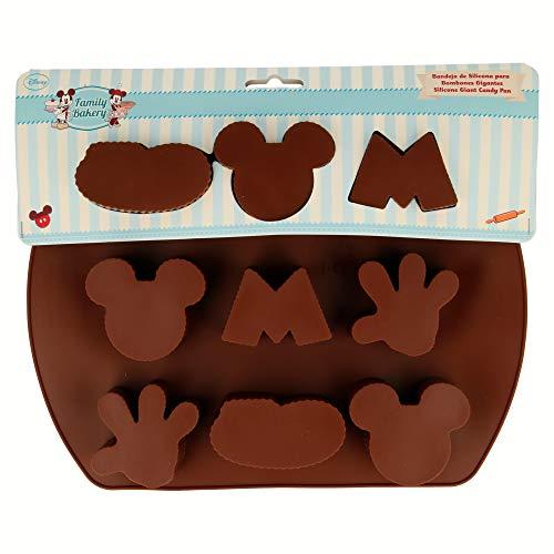 Stor 77759 Moule en Silicone pour chocolats Grands Family Bakery avec Carte pour pâtisserie, Composite, Multicolore, 25 x 20 x 7 cm