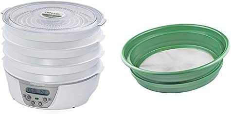 Presto 06301 Dehydro Digital Electric Food Dehydrator SE Patented Stackable 13 Sifting Pan Mesh product image