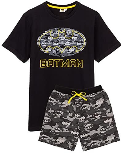 DC Comics Batman Pyjamas Camo Mens Kurzes oder langes Bein PJS XL
