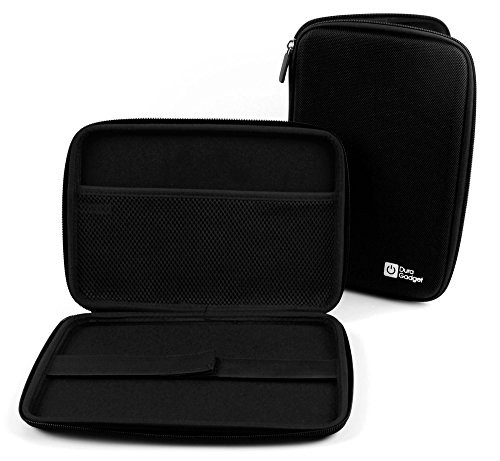 DURAGADGET Black Rigid Protective Case - Compatible with Samsung Galaxy Tab Active 2 & Galaxy Tab Active