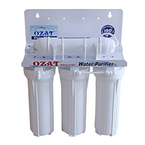 OZAT PURE WATER 4 Stage Non-Electric Water Purifier 20/25 Liter/Hour