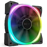 NZXT Aer RGB 2 PCケースファン RGB対応 140mm HF-28140-B1 FN1448