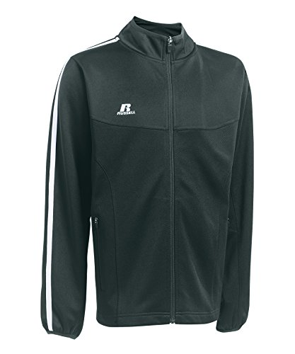 Russell Athletic Youth Full Zip Jacket, Graphite, Youth Large