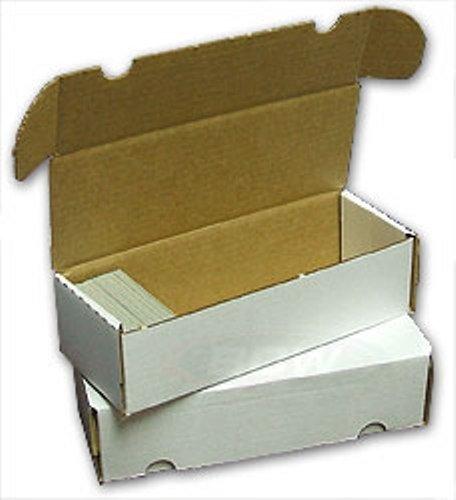 BCW Storage Box 550 Count (Quantity of 50) - Corrugated Cardboard Storage Box image