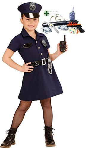 Karneval-Klamotten Polizei Kostüme für Kinder INKL Polizist Set Karneval Kinderkostüm