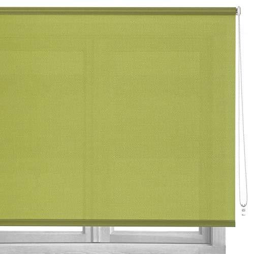 Estor Enrollable Verde Tela de 250x140 cm - LOLAhome