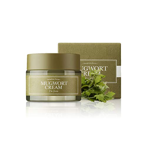 I'm From Mugwort Cream, For all skin type, 1.69 fl oz | Moisturizer with 73.55% Mugwort Extract