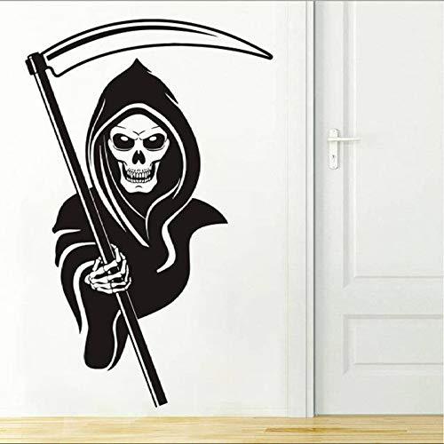 woyaofal Vinilo Inicio Dormitorio Calcomanía de Pared Sala de Estar Etiqueta de la Pared Fantasmas creativos Calcomanía para el hogar Dormitorio Decoración Arte Ventana Arte Mural 65x42cm