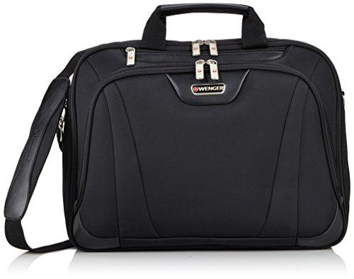 Wenger RV Businesstasche mit Laptopfach 17 Zoll Deluxe, schwarz, 17 liters, W72992217
