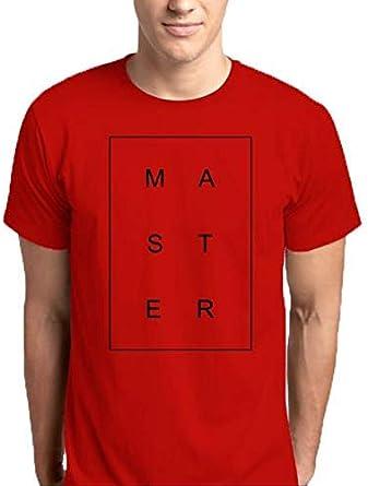 ماستر تي شيرت قبة دائرية -رجال