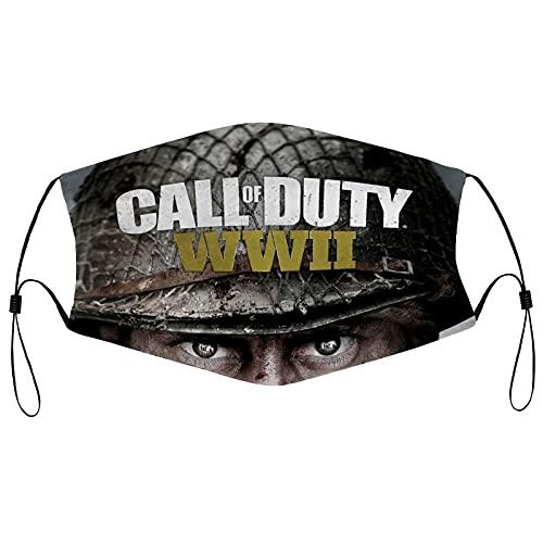 Best-design Call of Duty Pasamontañas, máscaras transpirables, bufanda, bufanda a prueba de polvo, bandanas al aire libre