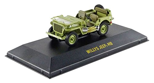 Greenlight Collectibles - 86307 - Jeep - C7 Army - 1944 - schaal 1/43 - groen