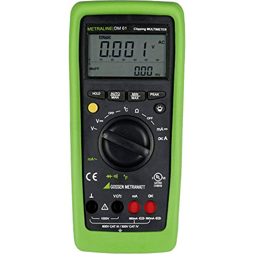 Gossen Metrawatt METRALINE DM 61 Hand-Multimeter digital CAT III 600 V, CAT IV 300V Anzeige (Counts)