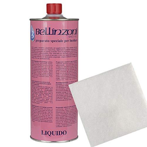 Kit Bellinzoni Preparato Speciale Incolore Liquido con panno in fibra