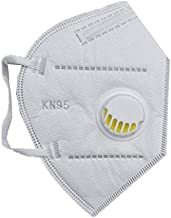 AMAZHEAL KN95 Mask For Face,Reusable,Anti Pollution/Bacterial, 5 layer Non wowen Raspirator valve, High Premium Quality with filter For Men Women (Pack of 5)
