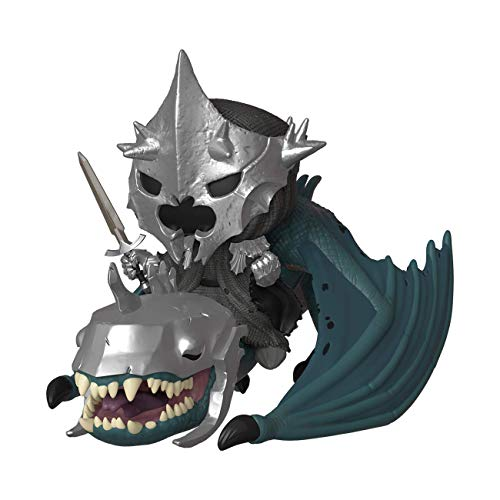 Funko 39894 POP Rides Lord of The Rings S5: Witch King w/Fellbeast Sammelbares Spielzeug, Mehrfarben