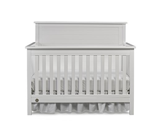 Fisher-Price Quinn 4-in-1 Convertible Crib, Snow White