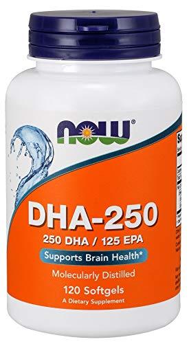 DHA-250 (120 Softgels) - Now Sports