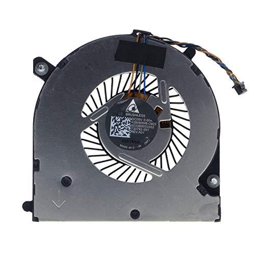 TRADOCK Ventilador de CPU para HP Elitebook 745-G2 750-G2 755-G2 840-G2 850-G2 840-G1 730792-001 KSB0805HB-CM23