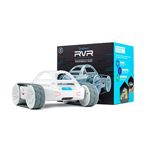Sphero RVR: All-Terrain Programmable Coding Robot with Customizable Hardware Platform - STEM Educational Robot for Beginners, Builders & Hackers - Micro:bit, Arduino, Raspberry Pi Compatible
