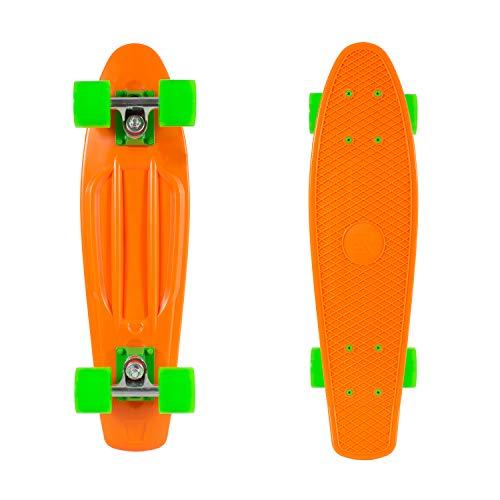 Retrospec Quip Skateboard 22.5' Classic Retro Plastic...