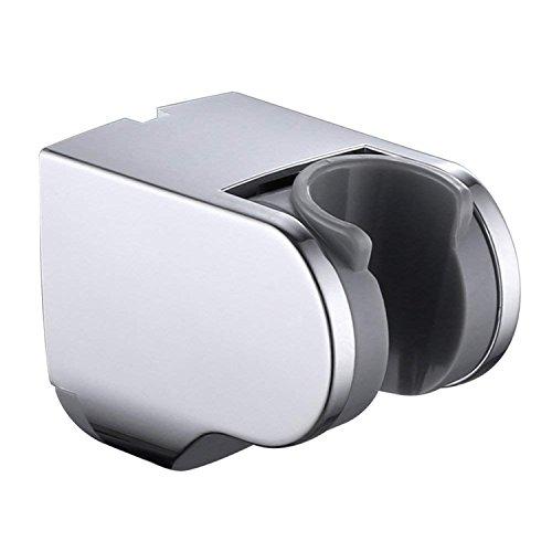 Couradric Verstellbar Halterung Handbrause Duschkopf Wandhalterung ABS Chrom Universal Brausehalter für Badezimmer