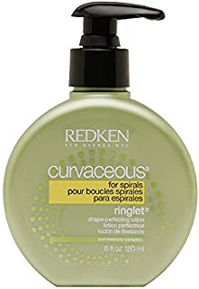 Redken Curvaceous Ringlet Anti-Frizz Perfecting Hair Treatment Lotion, 6 oz (Pack of 4)