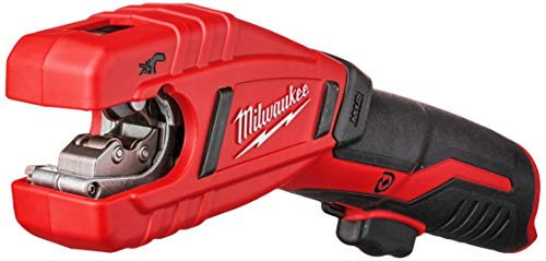 "Milwaukee 2471-20 M12 Cordless Lithium Ion 500 RPM Copper Pipe and Tubing Cutter Adjustable from 3/8' to 1"" Diameters (Battery Not Included, Power Tool Only)"
