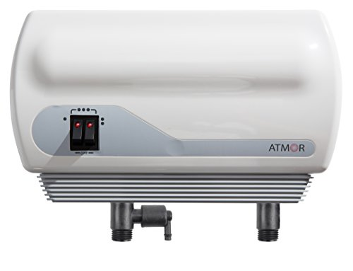 Atmor AT-900-04 Tankless Water Heater Electric, 3.8kW, White
