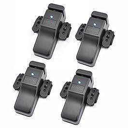 Hirisi Tackle Lot de 4 détecteurs de touche pour pêche à la carpe