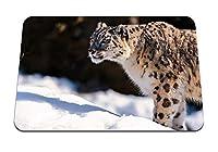 26cmx21cm マウスパッド (ユキヒョウプレデター雪) パターンカスタムの マウスパッド