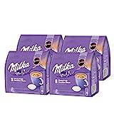 Senseo Milka Choco Pads - Juego de 4 cápsulas de chocolate (4 paquetes de 8 unidades)