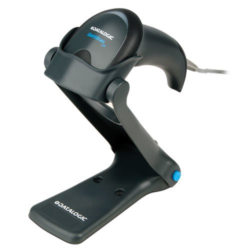 Datalogic QW2120-BKK1S QuickScan Lite Imager, Black, USB Interface w/USB Cable (90A052044) and Stand (STD-QW20-BK) QUICKSCAN LITE KIT, SCANNER, BLACK, USB CABLE AND STAND