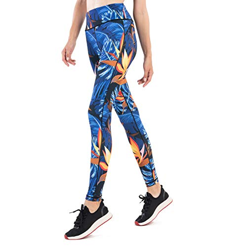 SILIK Women's Running Sports Gym Leggings Ladies Compresssion Mesh Panel Workout Tights...