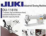 juki 1181 - NEW Juki DU-1181 SIngle Needle Walking Foot Complete w/ K.D. Stand & Servo Motor
