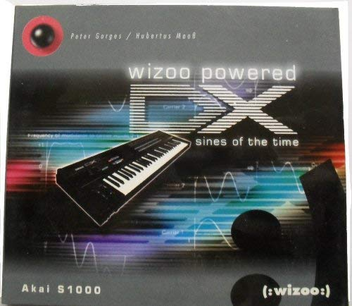 Wizoo powered DX: sines of the time [Sample-CD for AKAI / Yamaha / Roland]