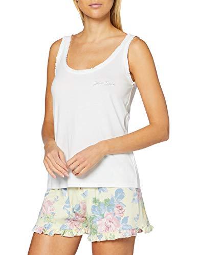Pijama Corto Estampado Floral