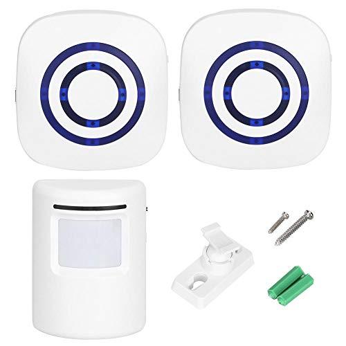 Duokon draadloze deurbelalarm voor intelligente deuren met bewegingssensor draadloos deurbelwaarschuwingssysteem veilige deurbel voor huishoudstekker Euro 100-240V